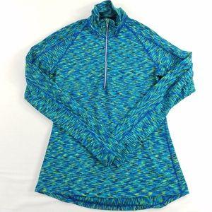 Athleta 1/2 Zip Long Sleeve Athletic Shirt